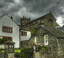 Hawkshead,Cumbria by VoluntaryRanger