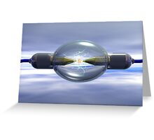 Spectrophotometer Greeting Card