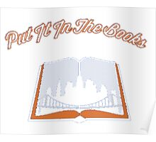 In The Books Poster