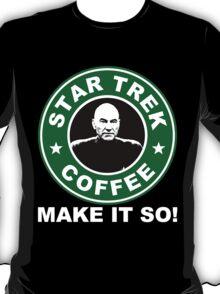 Star Trek Coffee - Make it So! T-Shirt