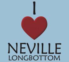 I love Neville Longbottom Kids Clothes