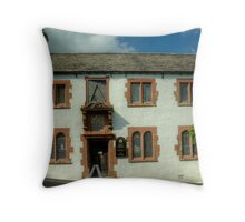 Hawkshead Grammar School Throw Pillow