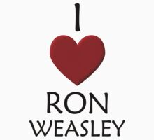 I Love Ron Weasley Kids Clothes