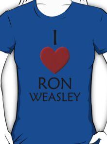I Love Ron Weasley T-Shirt