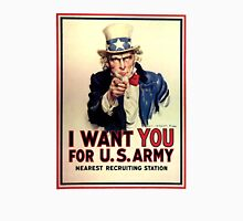 Uncle Sam - I Want You for US Army Unisex T-Shirt
