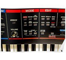 Roland Keyboard Poster
