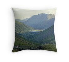 Brotherswater and The Kirkstone Pass Throw Pillow