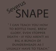 Severus Snape Quote Kids Clothes