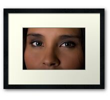 Eyes rock Framed Print