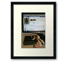 FBee Status Update Framed Print