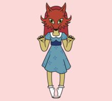 Masked Girl - Fox Kids Clothes