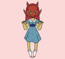 Masked Girl - Fox T-Shirt