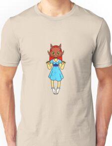 Masked Girl - Fox Unisex T-Shirt