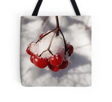 American Cranberries in Snow Tote Bag