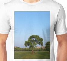 Photo of a tree on the lawn Unisex T-Shirt