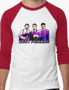 Best Friends - Spooks, Spectres, and Ghosts Men's Baseball ¾ T-Shirt