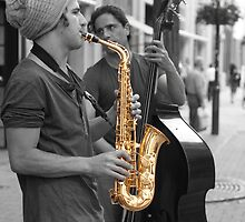 Saxophone by Rene Fuller