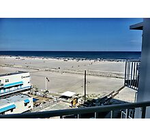 The Beach - Balcony View Photographic Print