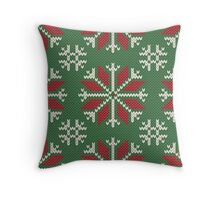 Knitted Christmas jacquard Throw Pillow