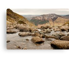 Lake District - stream Canvas Print