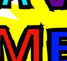 Save Me (From Myself) Sticker