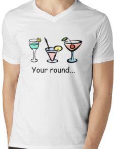 Drinks Mens V-Neck T-Shirt