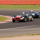 Vintage Racing - Silverstone  by Paul Woloschuk