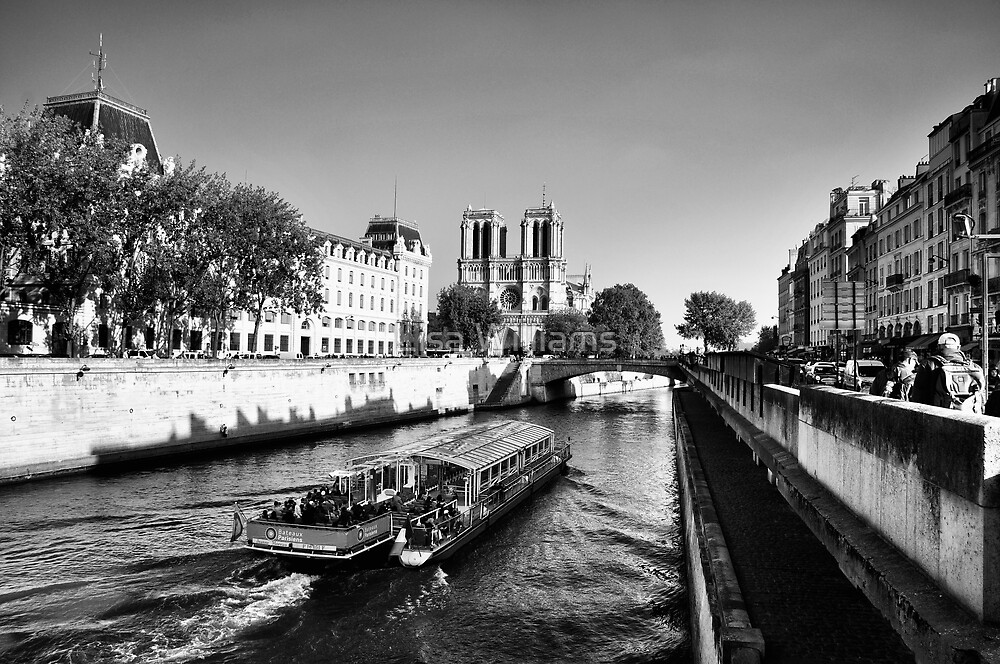 Cruising the Seine by Lisa Williams