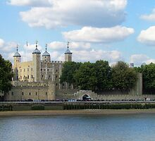 Tower of London by Audrey Clarke