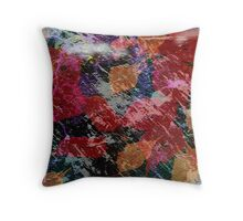 Dancing Leaves Throw Pillow