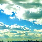 Clouds over NYC  by Alberto  DeJesus