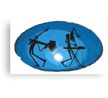 Cool music band Canvas Print