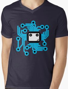 Computer chip Mens V-Neck T-Shirt