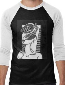 abstract figure Men's Baseball ¾ T-Shirt