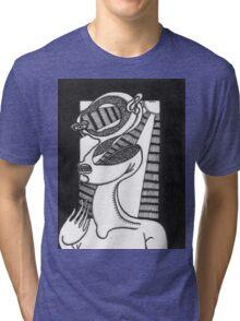 abstract figure Tri-blend T-Shirt