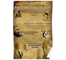 Black History Month Poster (2011) Poster