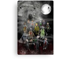 13 Zombies are here to Entertain You! Canvas Print