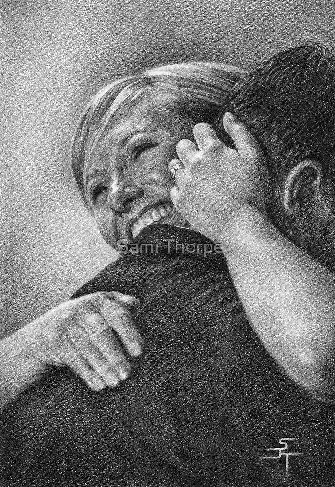 A3 Portrait Commission (True Love) by Sami Thorpe