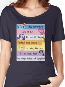 Friendship Is Magic Women's Relaxed Fit T-Shirt