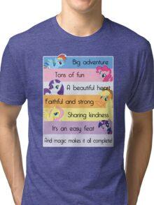 Friendship Is Magic Tri-blend T-Shirt