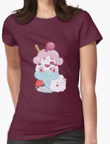 Slurpuff and Swirlix Womens Fitted T-Shirt