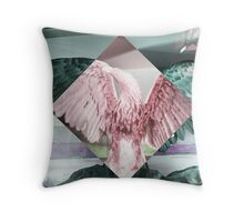Negative Creep No.1 Throw Pillow