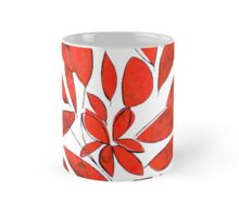 red leaves color your day Mug