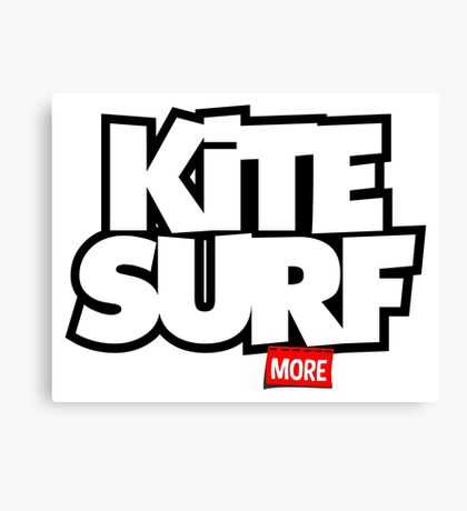Kite Surf More Canvas Print