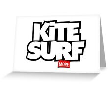 Kite Surf More Greeting Card