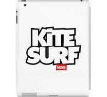 Kite Surf More iPad Case/Skin