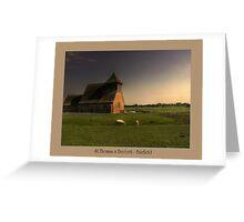 St.Thomas a Beckett - Fairfield Greeting Card