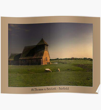 St.Thomas a Beckett - Fairfield Poster