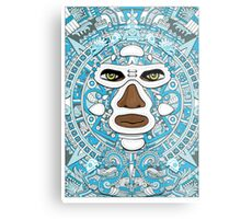 El luchador Azteca Metal Print