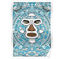 El luchador Azteca Poster